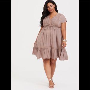 Torrid Blush Dress